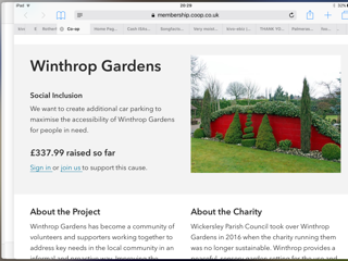 Co-op Community Fund - Winthrop Gardens